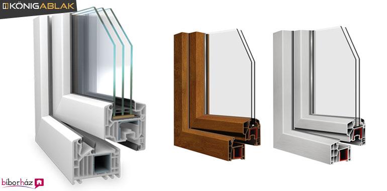 A műanyag ablakok alapanyaga a PVC maradt, azonban minden profilgyártónak megvan a maga titkos receptje