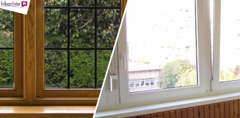 Fa vagy műanyag ablak? Válasszuk minden esetben a minőséget!